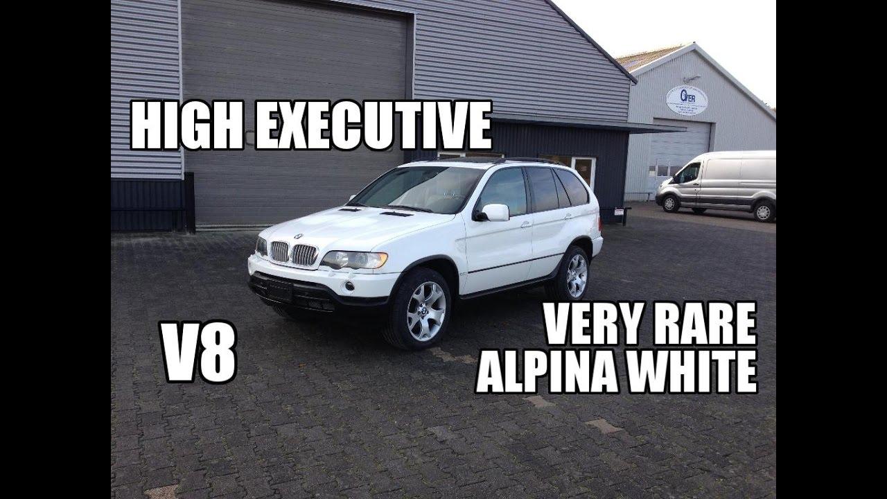BMW X E RARE Alpina White V Review Test For Sale - X5 alpina