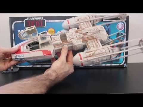 Star Wars ROTJ Toys R Us Y-Wing Review