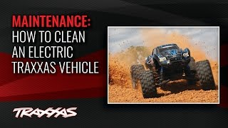 How to Clean an Electric Traxxas Vehicle