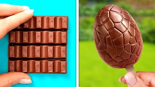 Impressive And Sweet Food Recipes With Chocolate, Marshmallow And Candy