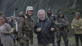 ALIEN: COVENANT (2017) B-Roll Set Footage (HD) Ridley Scott   PROMETHEUS SEQUEL