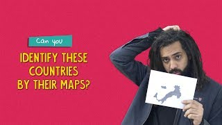Can You Identify These Countries By Their Maps?   Ft. Kanishk & Tenzing   Ok Tested
