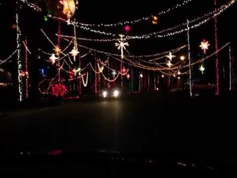 Amazing Christmas Lights hung using Bow & Arrow ???!!! - YouTube