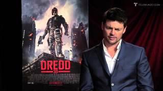 Karl Urban-How do you get Dredd's raspy voice?
