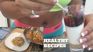 3 Quick Easy Healthy Meals | #bodybygia