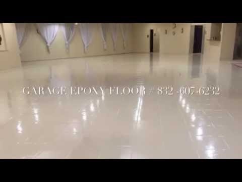 Epoxy floor over  tile