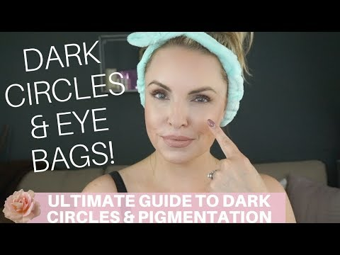 ULTIMATE GUIDE ON DARK CIRCLES, EYE BAGS, PIGMENTATION CORRECTION