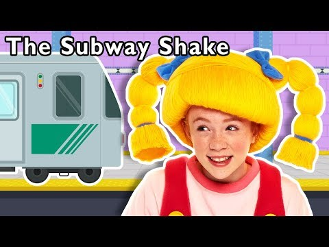 The Subway Shake and More | NEW TRAIN NURSERY RHYME | Baby Songs from Mother Goose Club!