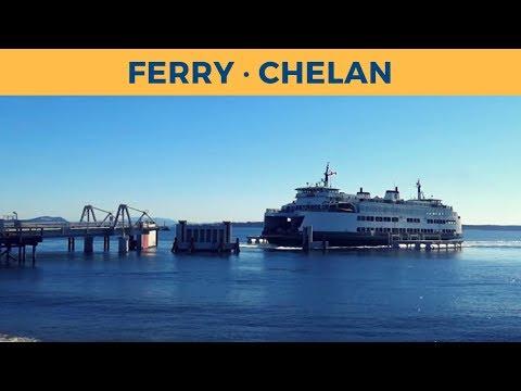 Passage ferry CHELAN, Sidney - Anacortes (Washington State Ferries)