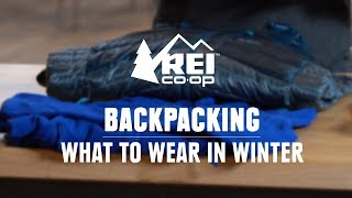What to Wear Backpacking and Hiking in the Winter || REI