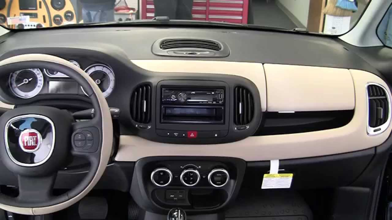 Metra Fiat 500l Stereo Dash Kits 95 And 99 6521b Youtube