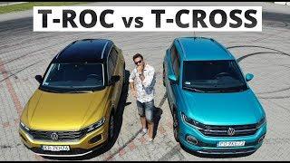 VW T-Roc czy T-Cross? Zadaj sobie jedno ważne pytanie... Video