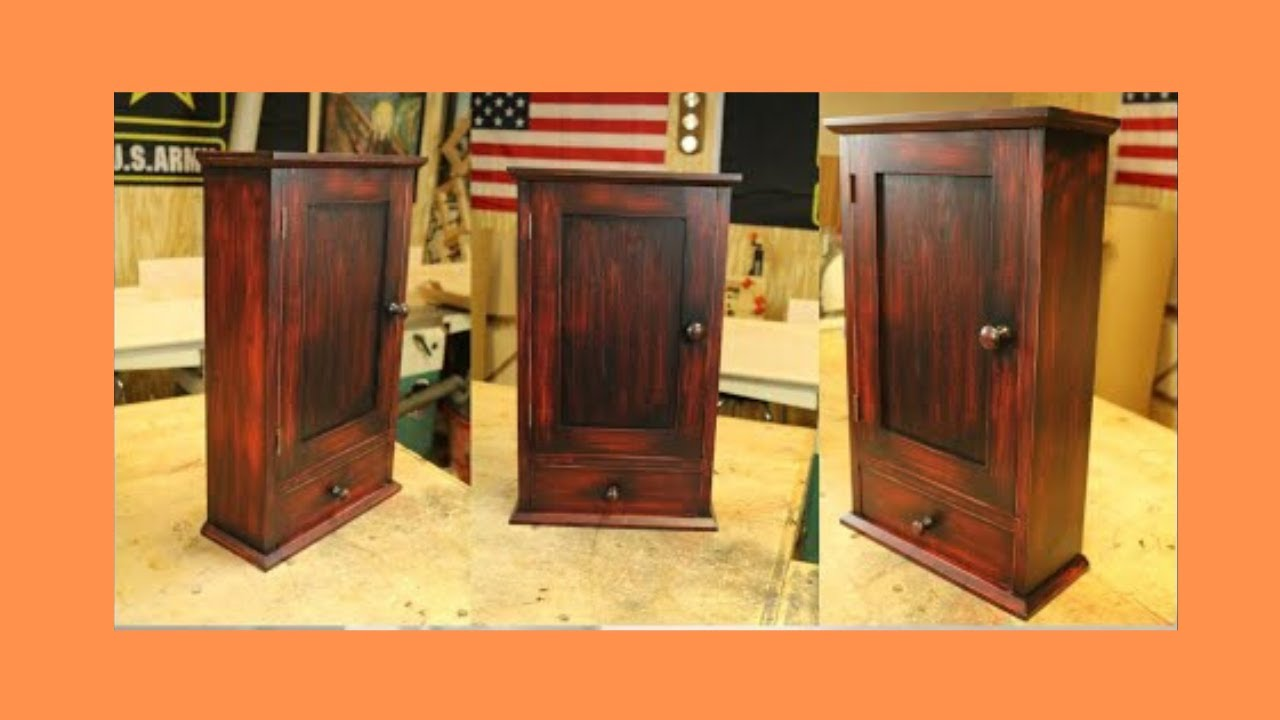 Build A Shaker Wall Cabinet Part 1