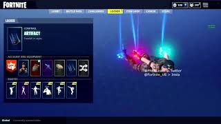 NEW LEAKED ARTIFACT Contrail Coming To FORTNITE BATTLE ROYALE