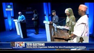 Osinbajo, Obi, Three Others Slug It Out At NEDG, BON Debate Pt.1 14/12/18 |News@10|