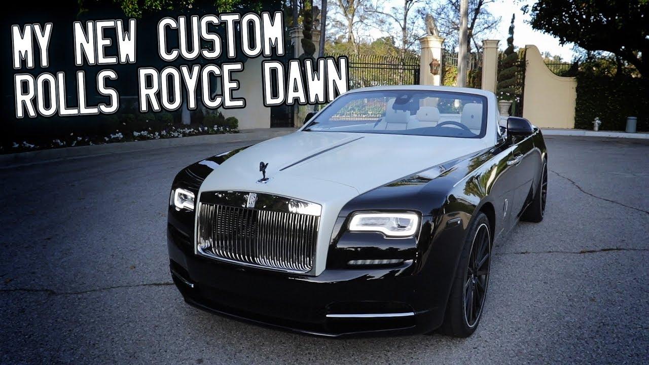 Here In My Garage My Custom Rolls Royce Dawn Youtube
