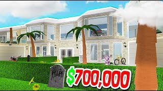 $700,000 VACATION RESORT MANSION!! (Roblox Bloxburg Subscriber Tours)