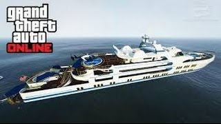 GTA V | How To Get A Free Yacht!