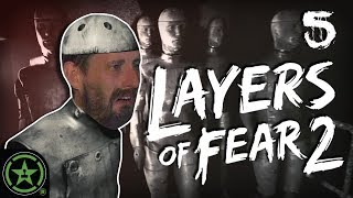 WHY IS THE RING GIRL HERE? - Layers of Fear 2 (Part 5) | Let's Watch