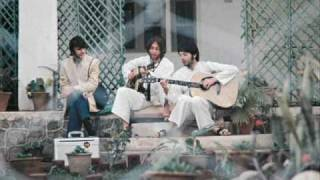 Beatles India Music Collage