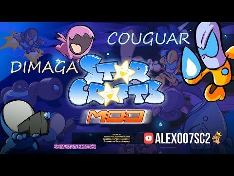 StarCrafts Mod: DIMAGA vs Couguar - игра и мультик!