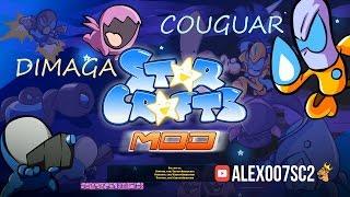 StarCrafts Mod: DIMAGA vs Couguar - игра и мультик от Carbot Animations!