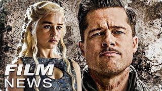 Brad Pitt bietet 120.000$ für Serienabend mit Khaleesi - FILM NEWS