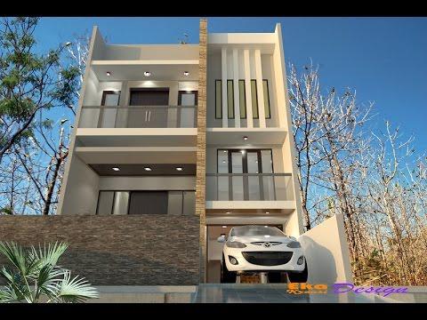 Jasa Desain Arsitek Rumah Minimalis Modern - Rumah Bp. Cuan Hin - Jakarta - Eka Kreasi Design ...