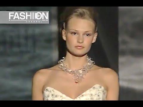 CARLO PIGNATELLI Haute Couture Spring 2003 Rome - Fashion Channel
