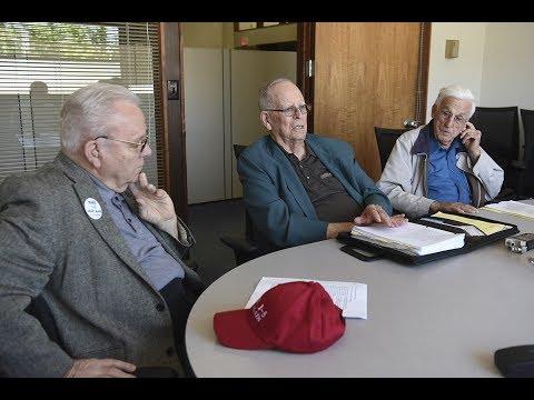 Editorial Board: I-5 Bridge with Ed Barnes, Al Bauer, and Robert Schaefer