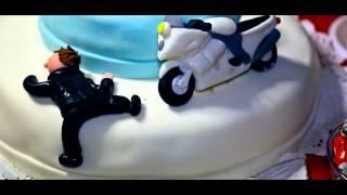 Байкерская свадьба Павел и Лиза Мото Свадебный клип 1280x720