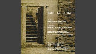Concerto Grosso No. 1 for 2 violins, harpsichord, prepared piano and strings: III. Recitativo