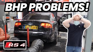 😈 OUR CHEAP B7 AЏDI RS4 GETS A SHOCKINGLY BAD BHP RESULT