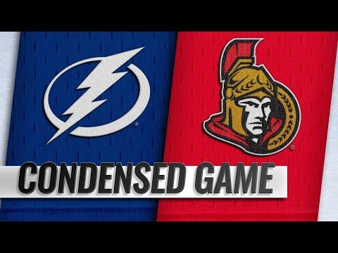 11/04/18 Condensed Game: Lightning @ Senators