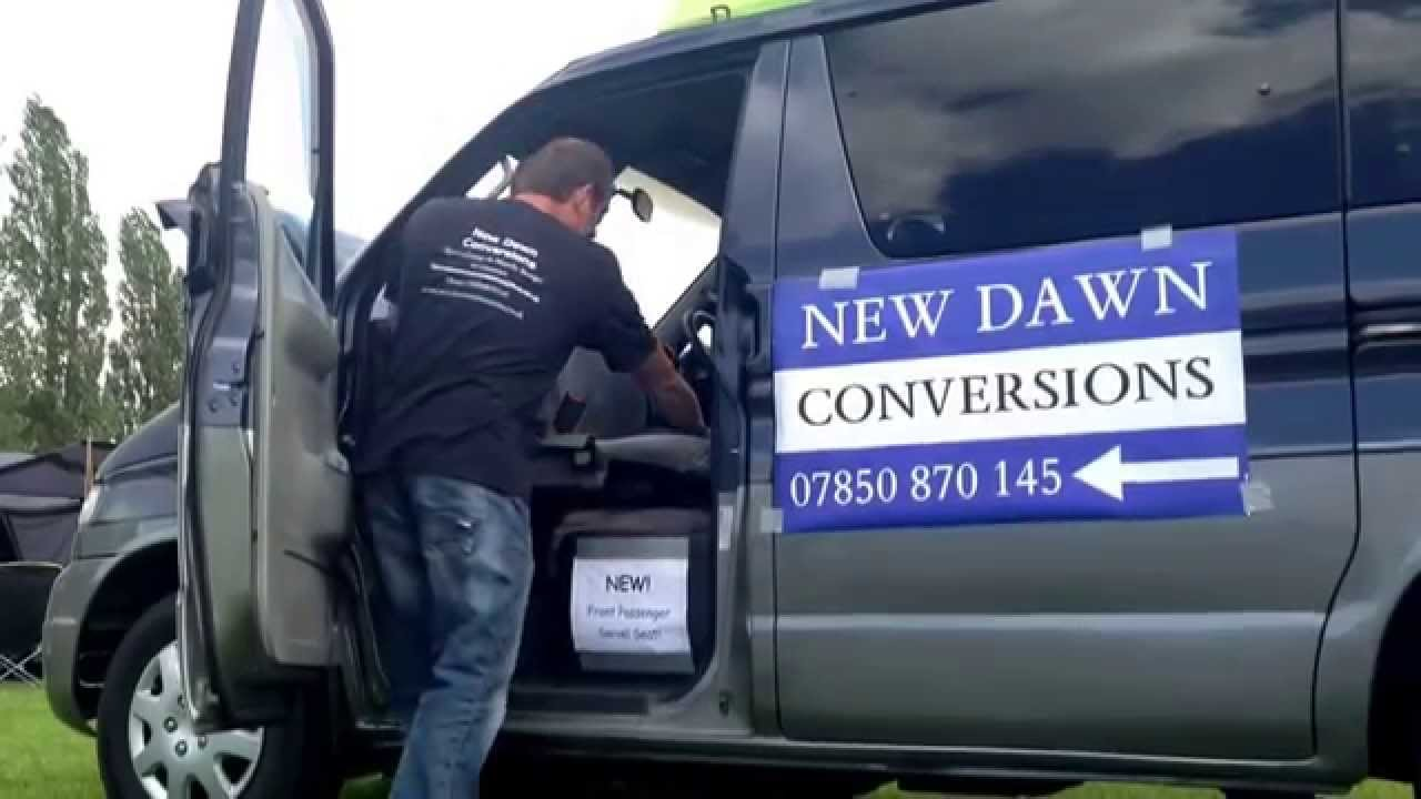 Mazda Bongo Front Passenger Swivel Seat Made By Dennis @ New Dawn  Conversions   YouTube