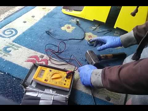 Knock sensor testing - YouTube