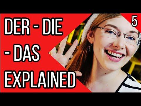 The German Articles/Genders (der, die, das) | Learn German Grammar | Deutsch Für Euch - Episode 5