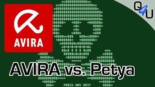 Avira AntiVirus Free vs. Petya V2 Ransomware | QSO4YOU Tech
