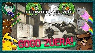 Counter Strike Global Offensive: O Noob Zuero!