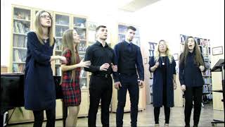 A cappella ансамбль ''Flames'' ''Song of the Lonely Mountain'' Библиотека имени М. Шолохова 03.02.19