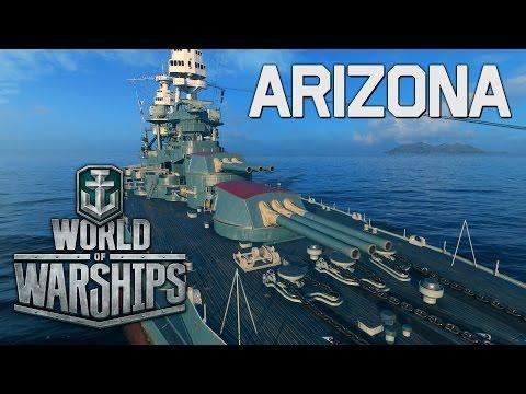 World Of Warships - Arizona Premium