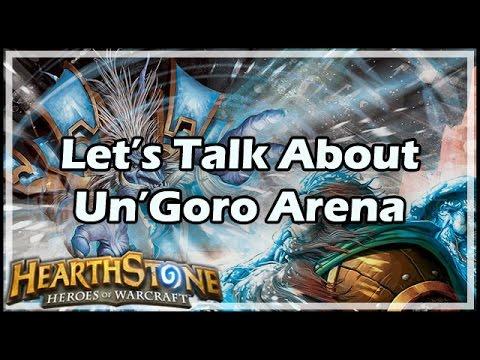 [Hearthstone] Let's Talk About Un'Goro Arena