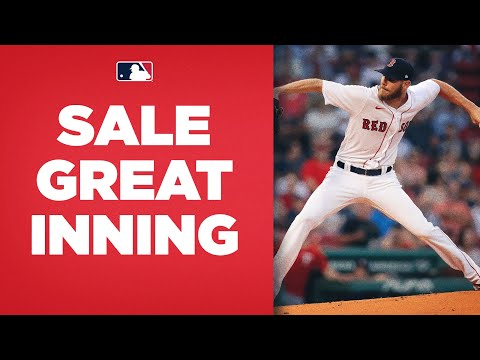 Chris Sale throws an IMMACULATE INNING! (3rd immaculate inning of Sale's career)