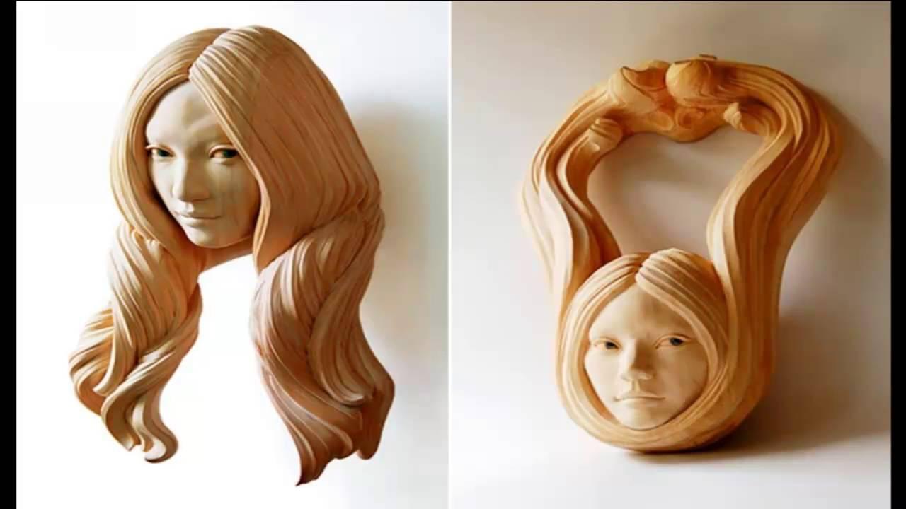 Скульптуры из дерева часть    8