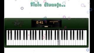 melly goeslaw - bunda (piano cover + lirik)