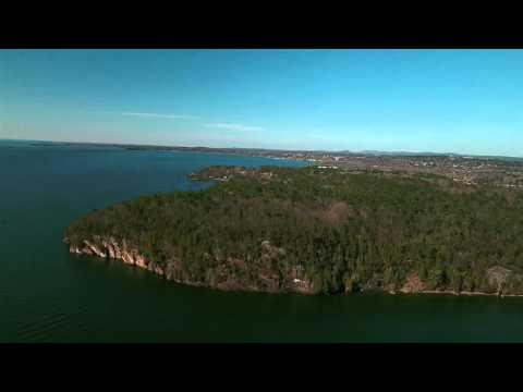 Red Rocks Dronie  DJI Phantom 4  Burlington VT