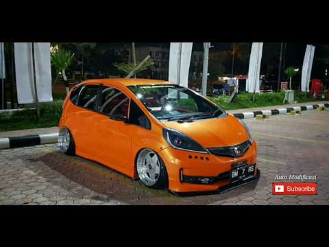 Honda Jazz Ge8 Orange |  Honda Jazz 2013 Keren | Insfirasi Modifikasi Honda Jazz #Auto Modificasi