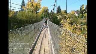 Elbow River Footbridge, Pre 2013 Flood, Calgary