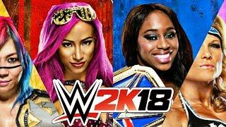 WWE 2K18 WOMEN'S ROSTER PREDICTION!!