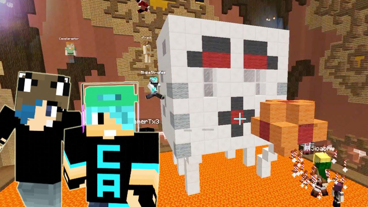 Nether Build In Minecraft Build Battle